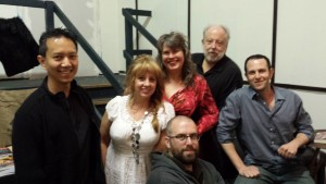 A quick picture of all of the authors and presenters for the March 28, 2015 event. Some said it was the best line-up yet.